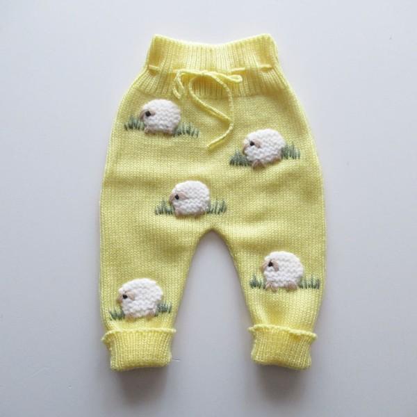Calças Ovelhinhas